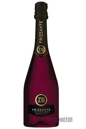 ZB Frizzante Золотоая балка красное полусладкое жемчужное вино, 0,75 л